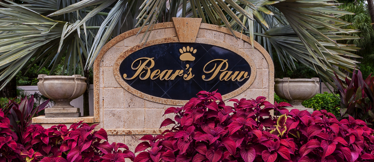 Bears Paw Naples Florida