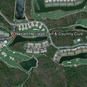 Naples Heritage Golf Course Map