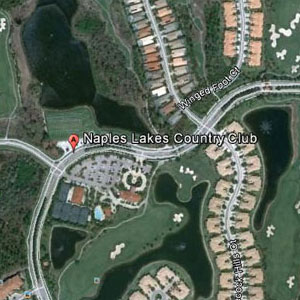 Naples Lakes Golf Course Map