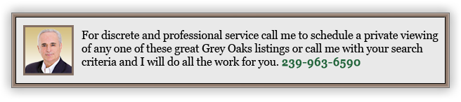 Grey Oaks Real Estate