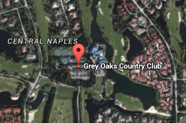Grey Oaks Golf Aerial Map