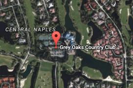 Grey Oaks Golf Aerial Map
