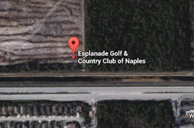 Esplanade Golf Aerial Map