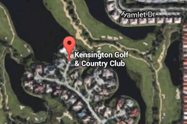 Kensington Golf Aerial Map
