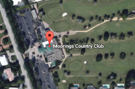 Moorings Golf Aerial Map