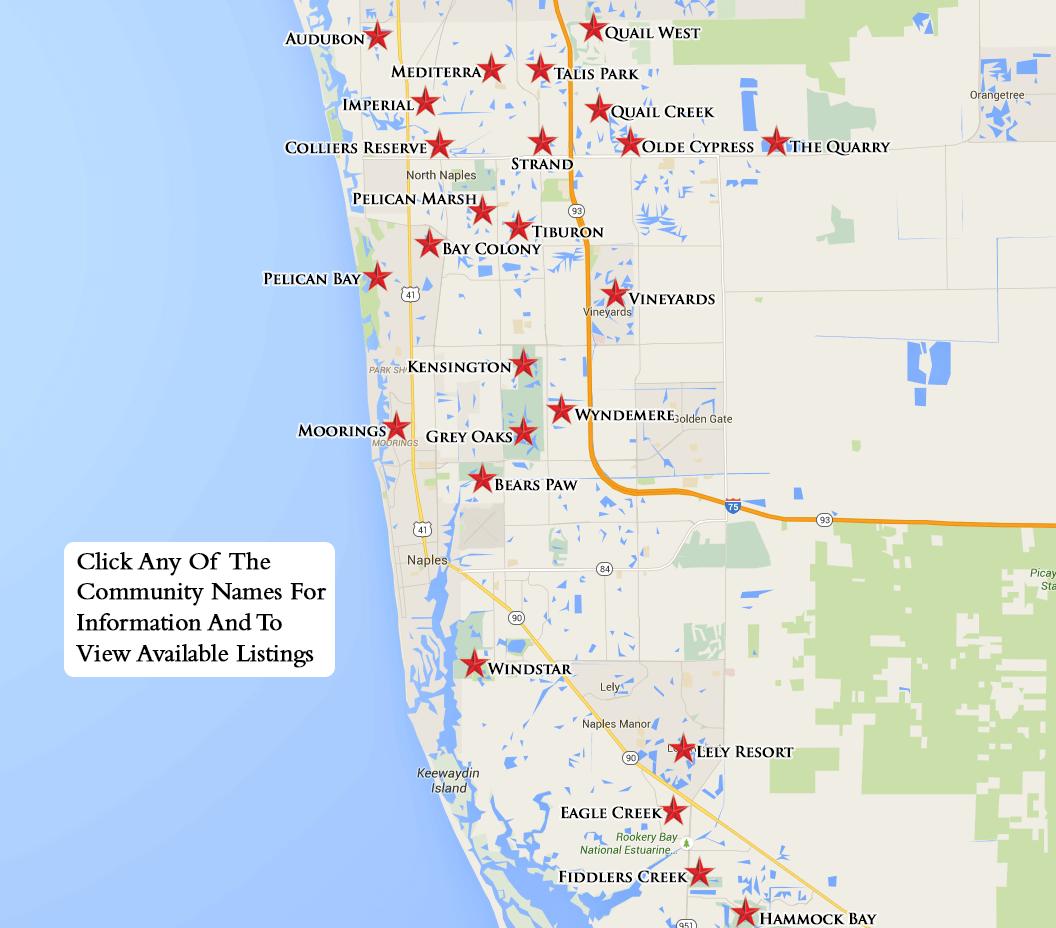 Naples Florida Map Equity Courses Map Naples Florida Map
