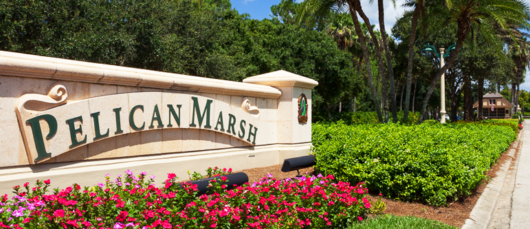Pelican Marsh Real Estate in Naples, Florida