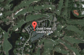Quail Creek Golf Aerial Map