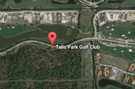 Talis Park Golf Aerial Map