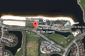 The Quarry Golf Aerial Map