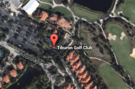 Tiburon Golf Aerial Map