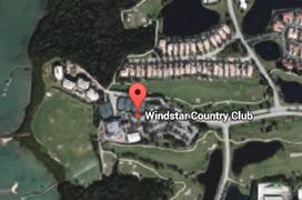 Windstar Golf Aerial Map