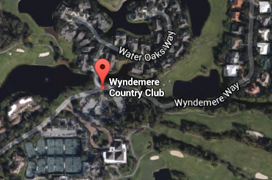 Wyndemere Golf Aerial Map